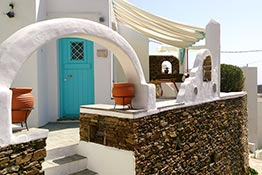 Luxury accommodation at Sifnos