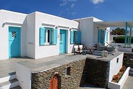 Accommodation in Sifnos with view at Apollonia